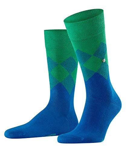 Burlington Herren Hampstead M SO Socken, Blau (Petrol Blue 6493), 40-46