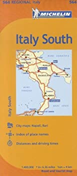 Michelin Italy  South Map 564  Maps/Regional  Michelin