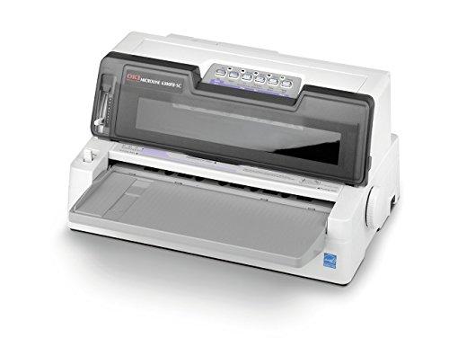 OKI ML6300FB-SC Stampante ad aghi, sistema di stampa 24 aghi a impatto, 106 colonne, 450 cps (caratteri al secondo)