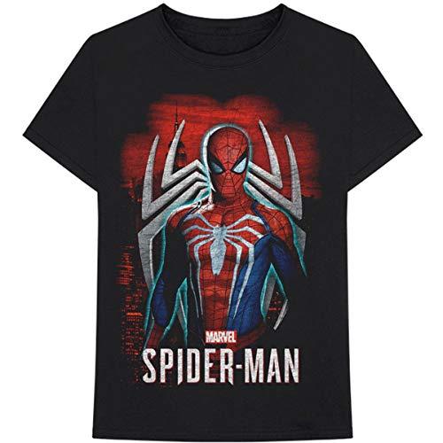 T-Shirt # M Unisex Black # Spiderman Games 1