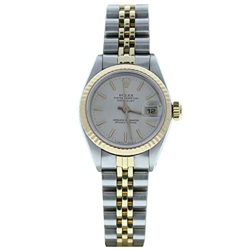 Rolex 26mm Datejust Model 6917 Steel & Gold Jubilee Band Silver Stick Dial (Certified Preowned)