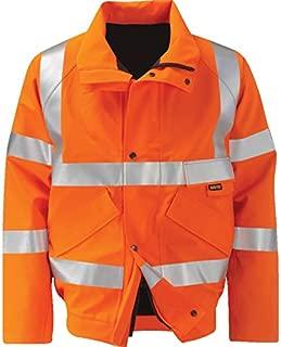 Size XX-Large Regular Portwest S467ORRXXL Hi-Vis Two Tone Traffic Jacket Orange//Navy