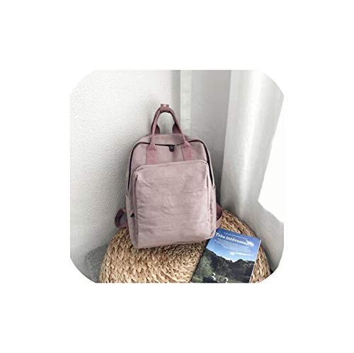 Harajuku Fashion backpack female new solid color waterproof Korea ins sweet Women Style Casual backpack,purple