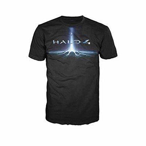 Halo 4 T-Shirt -S- Cover Logo, schwarz