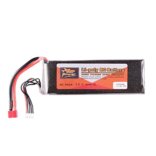 Zetiling RC LiPo Battery Rechargeable LiPo Battery with T-Plug 2200mAh LiPo Battery Replacement for RC Car Tool