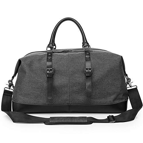 Chengzuoqing Weekender - Bolsa de deporte (40 L, talla única), color negro