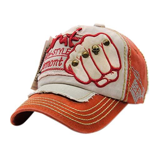 Da.Wa Casquettes de Baseball Homme Chapeau de Soleil Hip-Hop Ajustable pour en Plein Air Sportive Voyages Cyclisme Randonnée