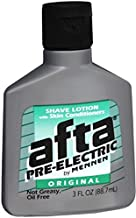 Afta Pre-Electric Shave Lotion with Skin Conditioners Original 3 oz (Pack of 9)