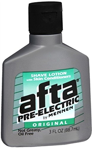 Afta Pre-Electric Shave Lotion with Skin Conditioners Original 3 oz...