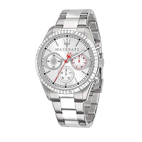 Reloj para Hombre, Colección Competizione, Movimiento de Cuarzo, multifunzione, en Acero - R8853100017