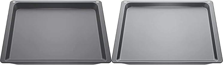Neff Z12CU10A0 Backofen- und Herdzubehör / Kochfeld / Universalpfanne / emaiilliert & Z11CB10E0 Backblech Backofen-Kochfeld-Kombination / Grau