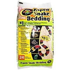 #1 Preferred snake bedding by professional herpetoculturists worldwide! Provides a safe, naturalistic substrate that allows snakes, lizards, and small animals to form burrows and nests as they would in the wild. It has a 191% absorbency rating and is...