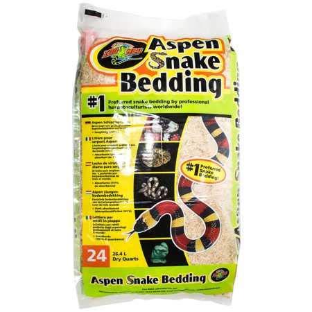 Zoo Med SB-24E Aspen Snake Bedding, 26.4 l Bodengrund für Schlangen