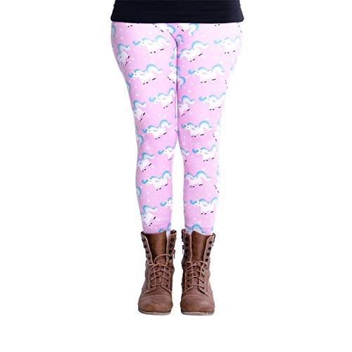 cosey - Eenhoornlijn - bedrukte kleurrijke leggings (één maat) - verschillende eenhoornontwerpen