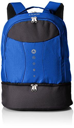 JAKO Herren Striker Rucksack, blau, 34 x 21 x 46 cm