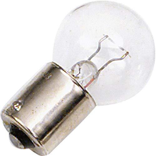 Top-Lamp Motorrad-Glühlampe, Motorrad-Glühbirne Glühbirnenpaar 6V, 18W Bajonettsockel BA15S, Unisex, Multipurpose, Ganzjährig, Glas, klar