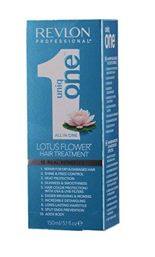 Revlon Uniq One, trattamento per capelli tutto in uno ai fiori di loto, 150ml