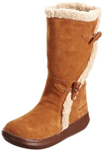 Womens Rocket Dog Slope Mid Calf Winter Boot (6) (Chestnut)
