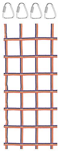 Red de escalada para niños escalada de carga de carga al aire libre interior interior cuerda de la cuerda de la cuerda de la cuerda para el campo de la carrera de obstáculos para el jardín al aire lib