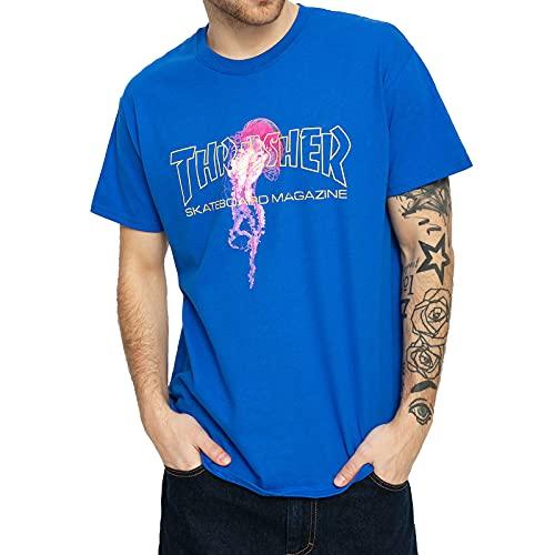 THRASHER, T-shirt atlantic drift, Royal - M