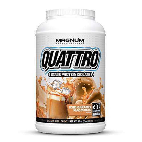 Magnum Nutraceuticals Quattro Protein Powder - 2lbs - Iced Caramel...