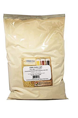 RiteBrew 812325 Briess - Dry Malt Extract - Golden Light - 3 lbs.
