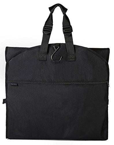 Magictodoor 60' Garment Bag Tri-Fold Gown Length w/Hanging Hook Large Pocket Destination Bag