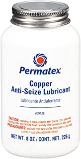 Permatex 09128-6PK Copper Anti-Seize Lubricant - 8 oz., (Pack of 6)