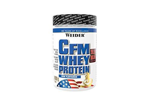 Weider CFM Whey Protein Isolat, hochwertiges Molkenproteinisolat, Eiweißpulver, 908g, Non Flavoured