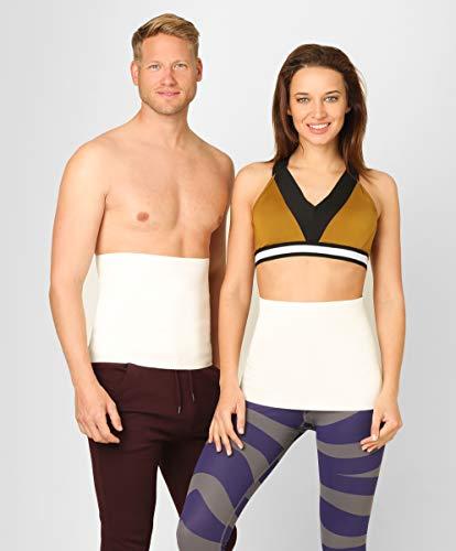 ®BeFit24 Faja Tubular Termica Lumbar Calor Elástico para Mujer y Hombre - Cinturon Termico de Lana de Angora y de Merino [ Size 3 ]
