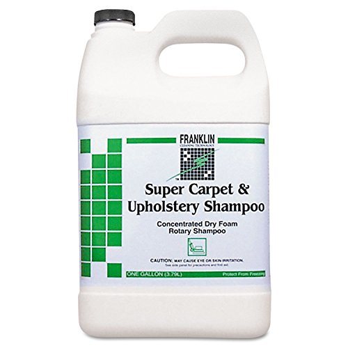 Franklin F538022 1 Gallon Super Carpet And Upholstery Concentrated Dry Foam Rotary Shampoo Bottle