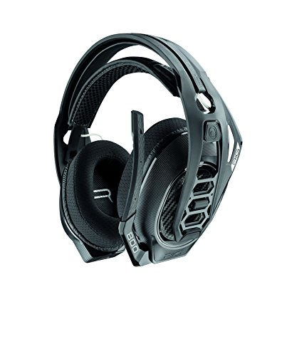 Plantronics Rig 800LX, Dolby Atmos Wireless Gaming Headset, Schwarz für Xbox, 25