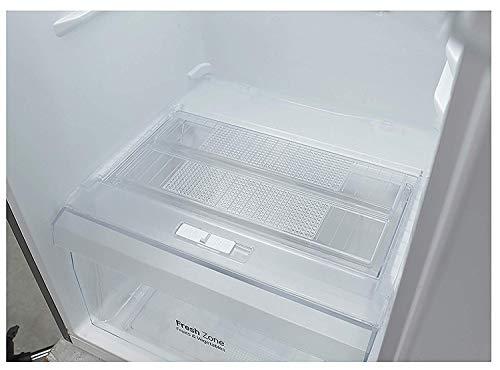 LG 260 L 4 Star Frost-Free Double Door Refrigerator (GL-I292RPZL, Shiny Steel, Inverter Compressor)