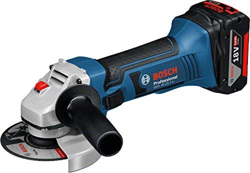 Bosch Professional 060193A30F Akku-Winkelschleifer GWS18-125V-Li Bosch, 18 V