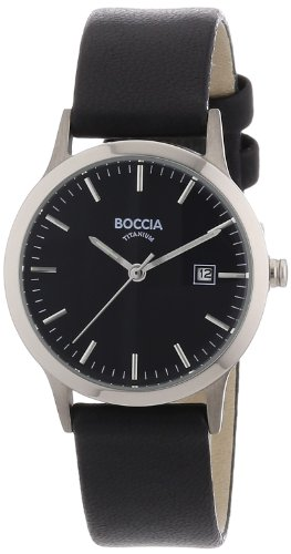 Boccia Damen-Armbanduhr Leder 3180-02