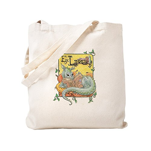 CafePress Dragon Reader Natural Can…