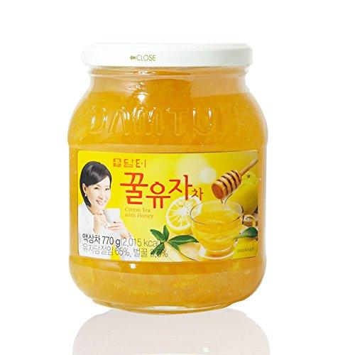 DAMTUH Honey Citron Tea, Citron Tea with Honey, 1 Bottle 27.16 Oz (770g)