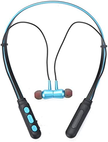 CALICOVILLA B11 Wireless Neckband Bluetooth Earphone Headset Earbud Portable Headphone Handsfree Sports Running Sweatproof Compatible Android Smartphone Noise Cancellation For All Smartphones