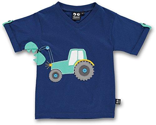 UBANG babblechat T-Shirt 1/4 Arm Shirt Traktor Marine Jungen