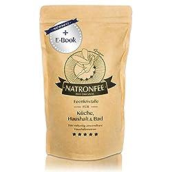 Natron Pulver - 1 kg Natron Lebensmittelqualität - Natriumhydrogencarbonat - Natriumbicarbonat - Baking soda - Backsoda