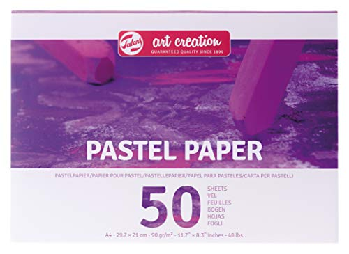Talens Art Creation - Pastellpapier A4, 90gm/qm , 50 Blätter, FSC-MIX