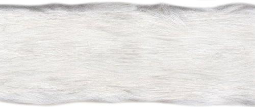 Fausse fourrure 4 cm x 6 m Blanc