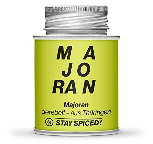 STAY SPICED ! Original Thüringer Majoran I Reingewürze 1. Qualität - gerebelt I 170 ml