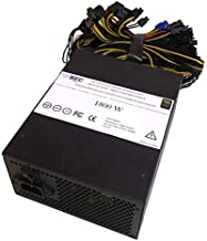 BEC NeTech Cryptocurrency Miner Power Supply Mining 1600-1800w 6GPU Graphic Card Mining PSU 96 Gold for BTC (Bitcoin) Ethereum