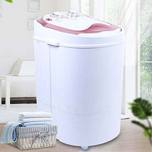 Mini lavadora con centrifugado para viaje, portátil, hasta 3 kg