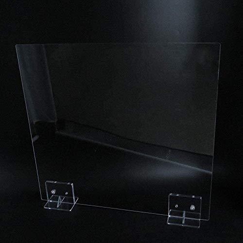 Tbagem-Yjr Sneeze Bildschirm, Plexiglas-Bildschirm Acryl Lünette aus stabilem Acryl Durable verhindert das Wachstum von Bakterien, Viren und Mikroorganismen Geeignet for Multiple Crowded Orte