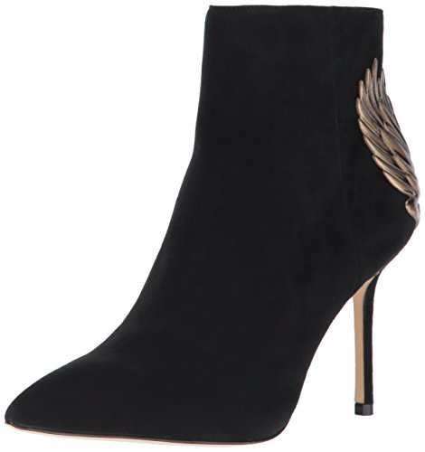 Katy Perry Women's The Grace Ankle Boot, Black, 5.5 Medium US