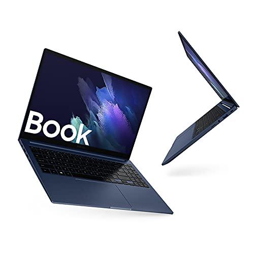 Samsung Galaxy Book Laptop, Processore Intel Core i3 di undicesima generazione, 15,6 Pollici, Windows 10 Home, 8 GB RAM, SSD 256 GB, Colore Mystic Blue