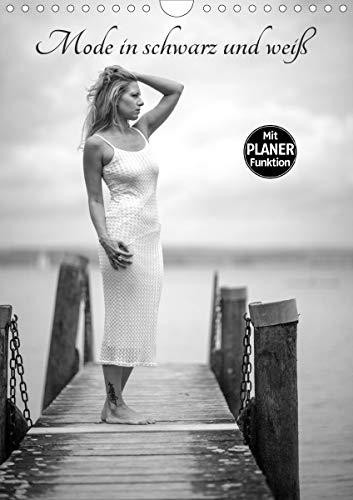 Mode in schwarz und weiß (Wandkalender 2021 DIN A4 hoch)