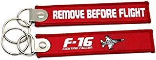 New F-16 Falcon Fabric Keychain